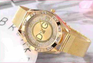 Złoty zegarek Damski